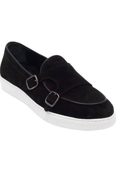 Pelle Tinni Deri Bej Süet Ayakkabı