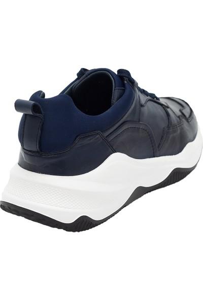 Pelle Tinni Deri Erkek Sneaker Ayakkabı