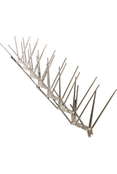 Expel Plastik Kuşkonmaz Bariyer Kuş Engelleyici Tel 3D Model 5'li