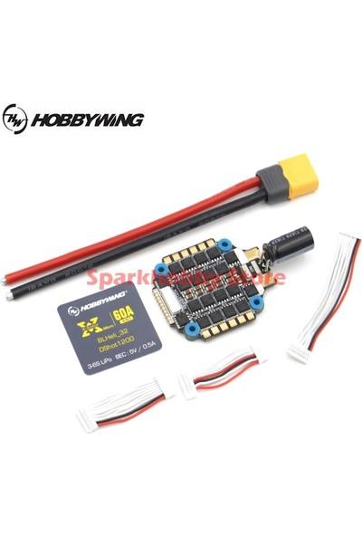 Hobbywing Xrotor Micro 60A 4 In 1 Blheli-32 DSHOT1200 Fpv Drone Esc