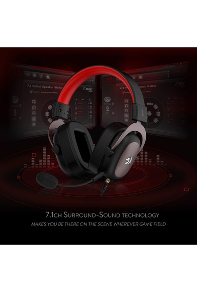 Redragon H510 Zeus 7.1 Surround Oyuncu Kulaklığı