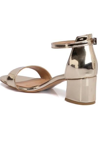Tergan Altın Vegan Kadın Ayakkabı 210059M4D