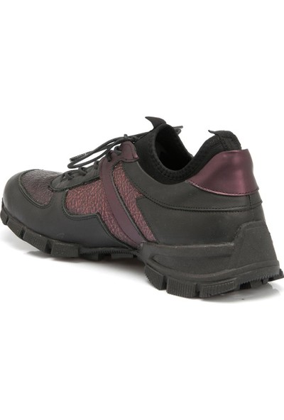 Tergan Bordo Deri Erkek Ayakkabı 54044O3I