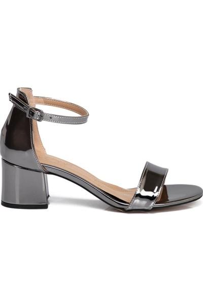 Tergan Gümüş Vegan Kadın Ayakkabı 210059O58