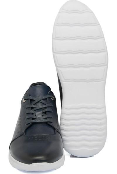 Tergan Lacivert Deri Erkek Ayakkabı 54272A31