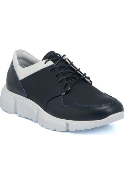 Tergan Lacivert Deri Erkek Ayakkabı 54338A31
