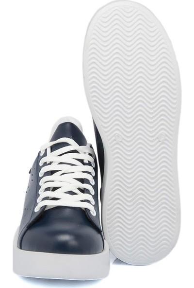 Tergan Lacivert Tekstil Kadın Ayakkabı 64464B20