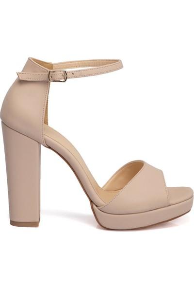 Tergan Nude Vegan Kadın Ayakkabı 210055Q0F