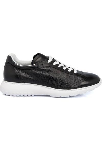 Tergan Siyah Deri Erkek Ayakkabı 54243C59
