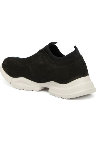Tergan Siyah Deri Erkek Ayakkabı 54336A64