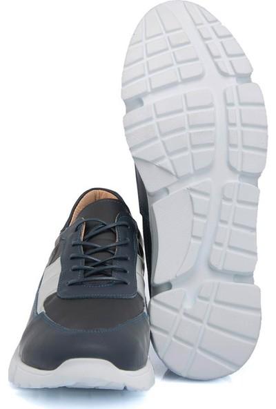 Tergan Siyah Deri Erkek Ayakkabı 54339A23