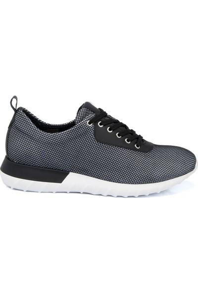 Tergan Siyah Tekstil Erkek Ayakkabı 54297I46