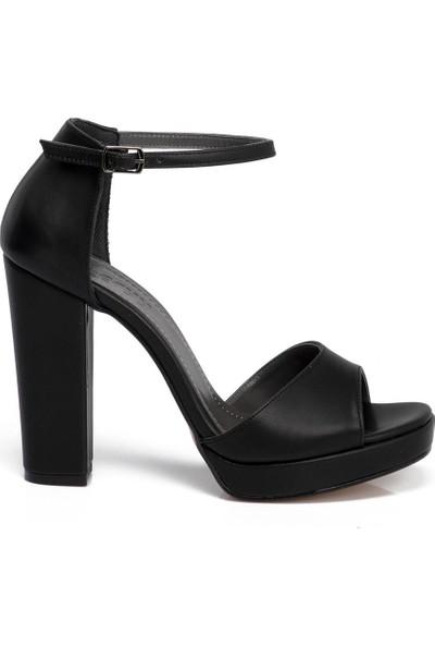 Tergan Siyah Vegan Kadın Ayakkabı 210055D62
