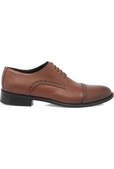 Tergan Taba Deri Erkek Ayakkabı 54136A37