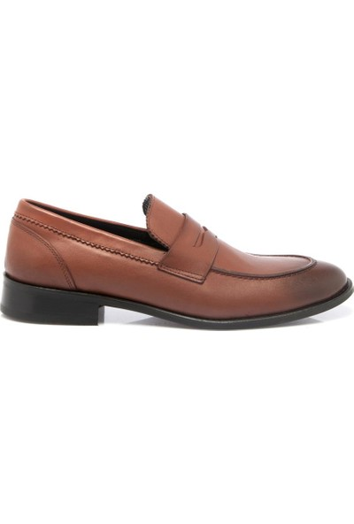 Tergan Taba Deri Erkek Ayakkabı 54138A37