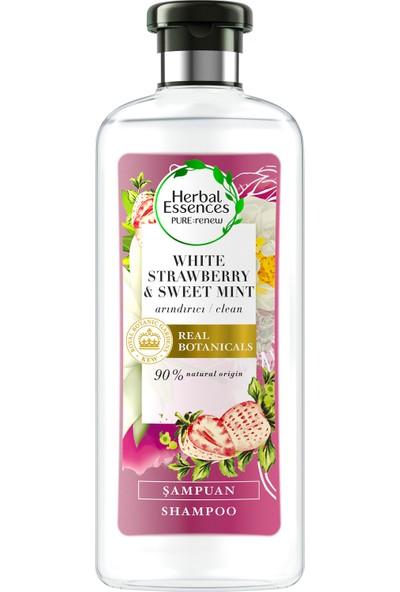 Herbal Essences Beyaz Çilek ve Tatlı Nane 400 ml Şampuan