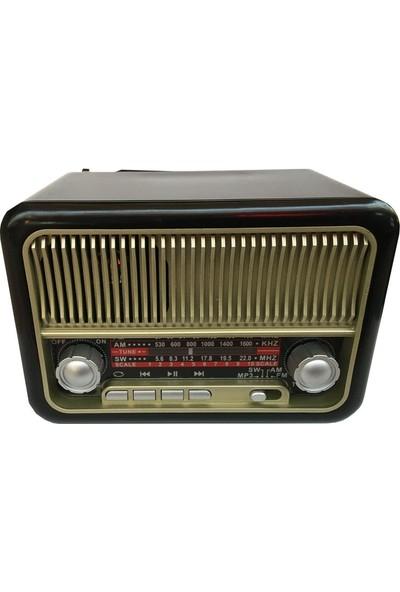 Everton RT-308 Şarjlı Nostaljik Buluetooth Radyo