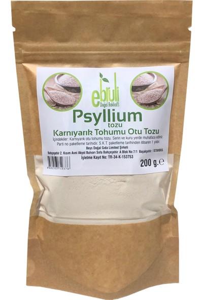 Ebruli Doğal Bakkal Karnıyarık Otu Tohumu Tozu - Psyllium 200 gr