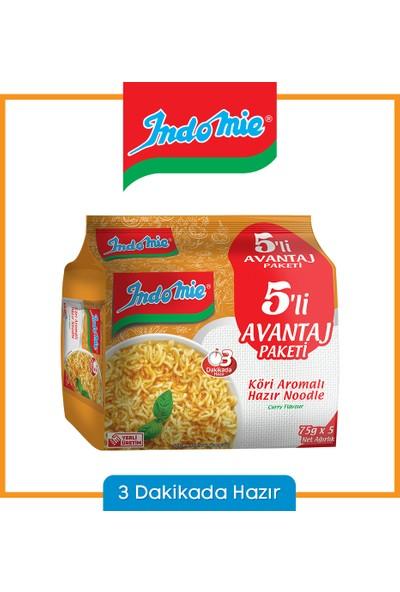 İndomie 5'li Köri Aromalı Hazır Noodle