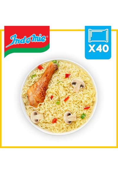 İndomie 40'lı Tavuk Aromalı Hazır Noodle Koli