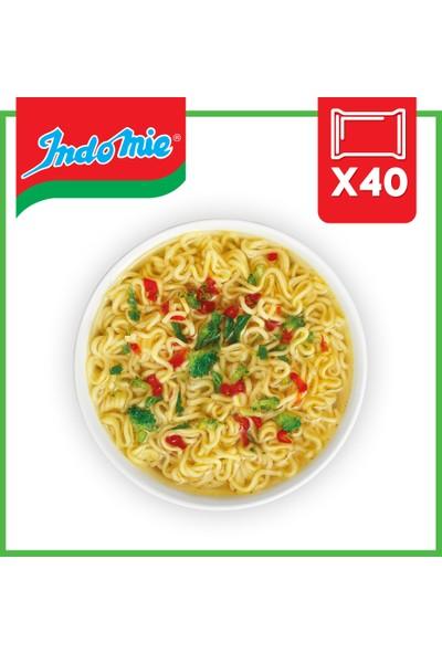 İndomie 40'lı Sebze Aromalı Hazır Noodle Koli