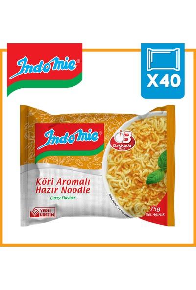 İndomie 40'lı Köri Aromalı Hazır Noodle Koli