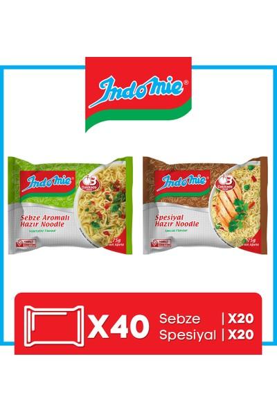 İndomie 40'lı Noodle Paket Karma Koli(Special-Sebze)