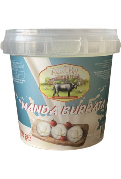 Aliba Manda Peyniri Burrata 150 gr
