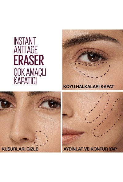 Maybelline New York Instant Anti Age Eraser Kapatıcı - 04 Honey