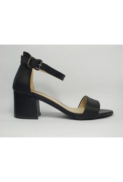 Tria Siyah Tekbant Kadın Ayakkabı 01040136