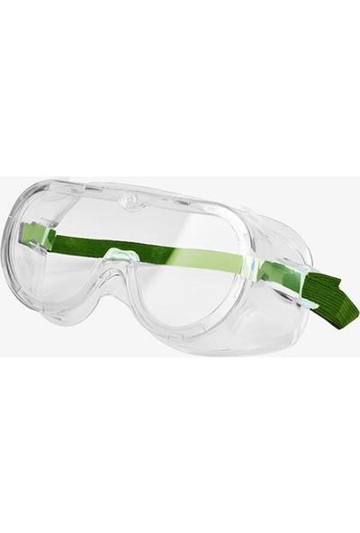 Baymax Google Tip Koruyucu Gözlük Şeffaf Beyaz