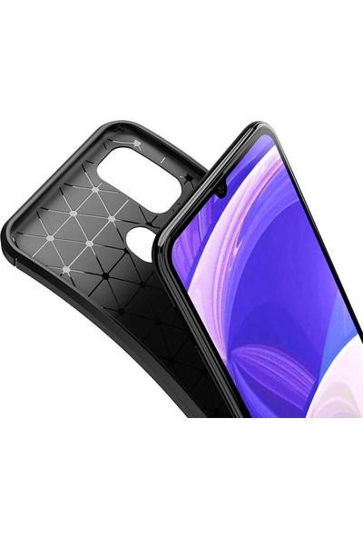 Tekno Grup Samsung Galaxy M31 Kılıf Karbon Desenli Lux Negro Silikon Siyah