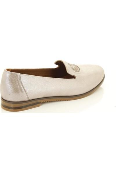 Marine Shoes 2043 Bej - Kadın - Günlük Ayakkabı