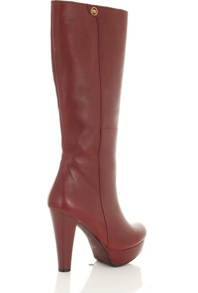 Mammamia 2000 Bordo - Kadın - Çizme