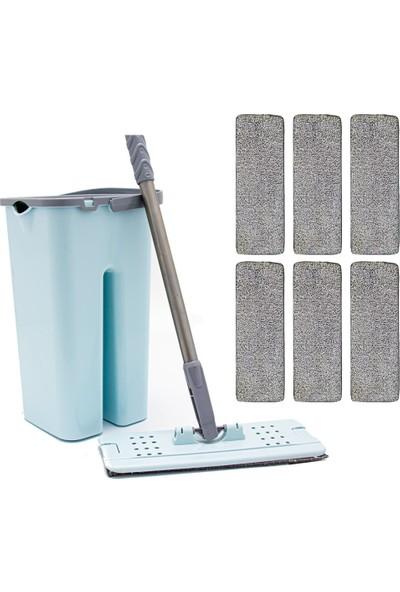 Zambak +6 Yedek Mop ve Zambak Tablet Mop Seti Temizlik Seti