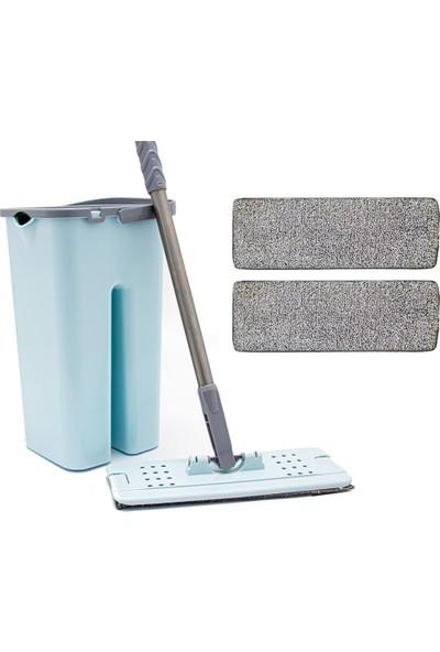 Zambak +2 Yedek Mop ve Zambak Tablet Mop Seti Temizlik Seti