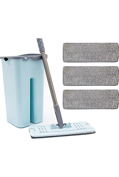 Zambak +3 Yedek Mop ve Zambak Tablet Mop Seti Temizlik Seti