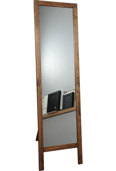 Dbk Max Ayaklı Boy Aynası Masif Ahşap 41 x 145 cm