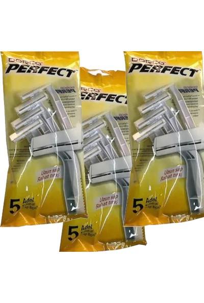 Dorco Perfect 15'li Kullan At Tıraş Bıçağı