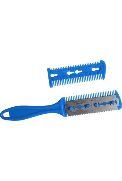 Original Buotique Çift Jiletli Saç Tarağı Saç Usturası