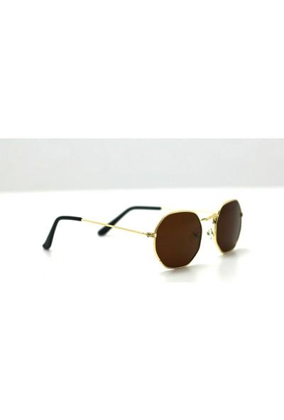 Poyraz Store Sekizgen Unisex Güneş Gözlüğü