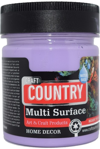 Craft Country Multi Surface Hobi Boyası 120 cc 1049 Lila