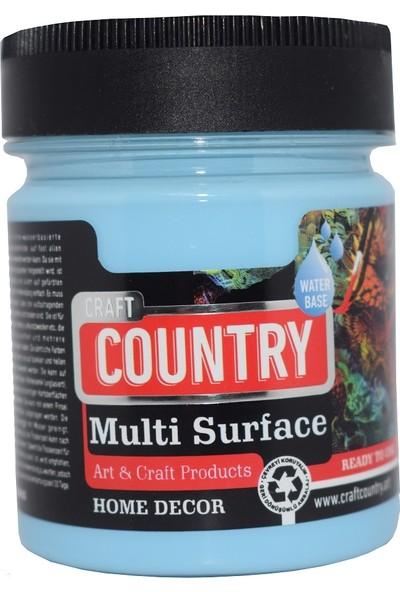 Craft Country Multi Surface Hobi Boyası 120 cc 1059 Gökyüzü Mavi