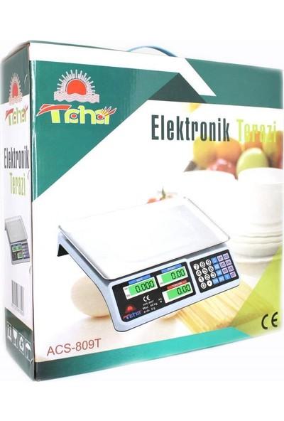 Taha Brader Elektronik Terazi Dijital Market Manav Bakkal Terazi 40 kg