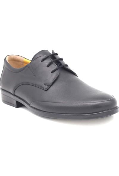 Chartel Deri Siyah Erkek Günlük Ayakkabı CHRT100