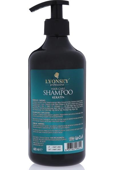 Bitkisel At Kuyruğu Saç Bakım Seti Lyonsey Şampuan 400 ml + Bakım Yağı 100 ml