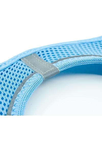 Tailpetz Airmesh Mavi Göğüs Tasması S