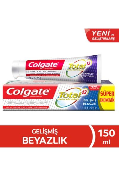 Colgate Total Gelişmiş Beyazlık 150 ml
