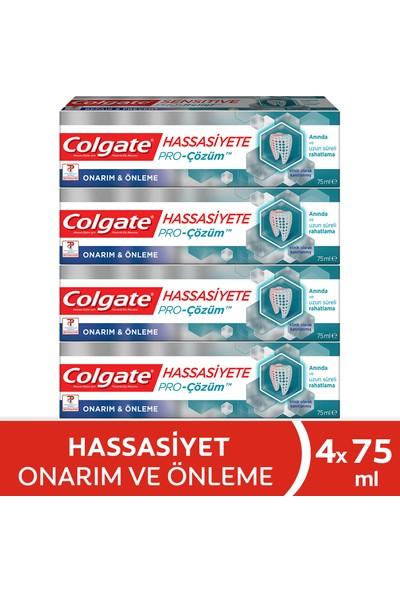 Colgate Hassasiyete Pro Çözüm Onarım ve Önleme Diş Macunu 75 ml x 4 Adet