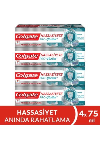 Colgate Hassasiyete Pro Çözüm Anında Rahatlama Diş Macunu 75 ml x 4 Adet